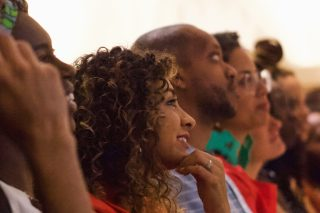 BlackStar Pitch Thumbnail shows audience members looking on at the 2019 BlackStar Pitch session