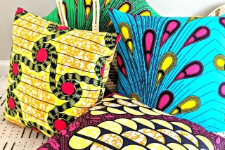 colorful-ankara-african-print-pillow-covers-reflektion-design - Reflektion Design