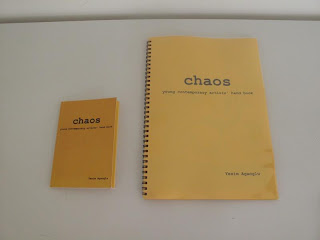 Two copies of Chaos by Yeşim Ağaoğlu.