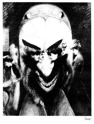 gossip skull illusion