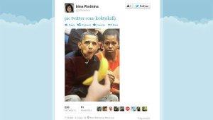 Racist Obama Tweet