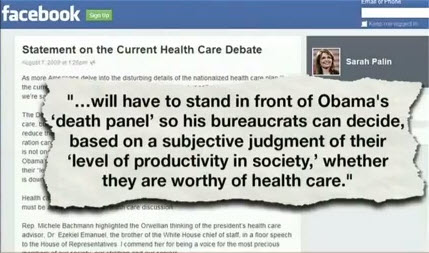 Sarah Palin Death Panels