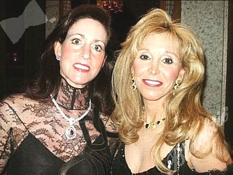 Blacktie Photos Debbie Lustig Left With Iris Smith
