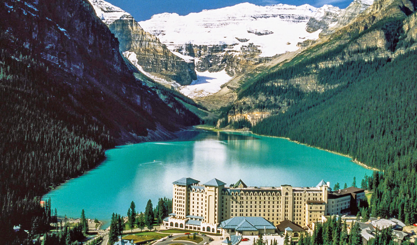 Image result for Fairmont Chateau Lake Louise Canada