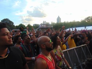 First Day at One Music Fest in Atlanta was a Hot, Sticky, Frustrating and Great Learning Experience