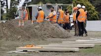 Video Extra #2 >>> Graves prepared as New Zealand Mourns Mosque Victims