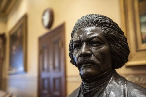 Maryland State House Honor Frederick Douglass and Harriet Tubman with Statues