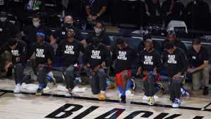 NBA Players Boycott of Games Comes Four years to the date of when Colin Kaepernick first sat down during the national anthem on the NFL sideline