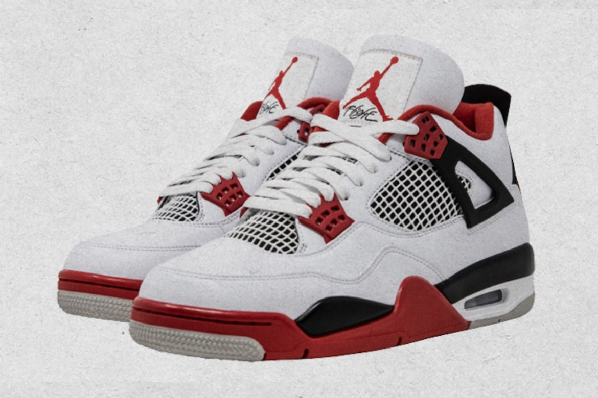 """Nike Officially Confirms the Air Jordan 4 """"Fire Red"""""""