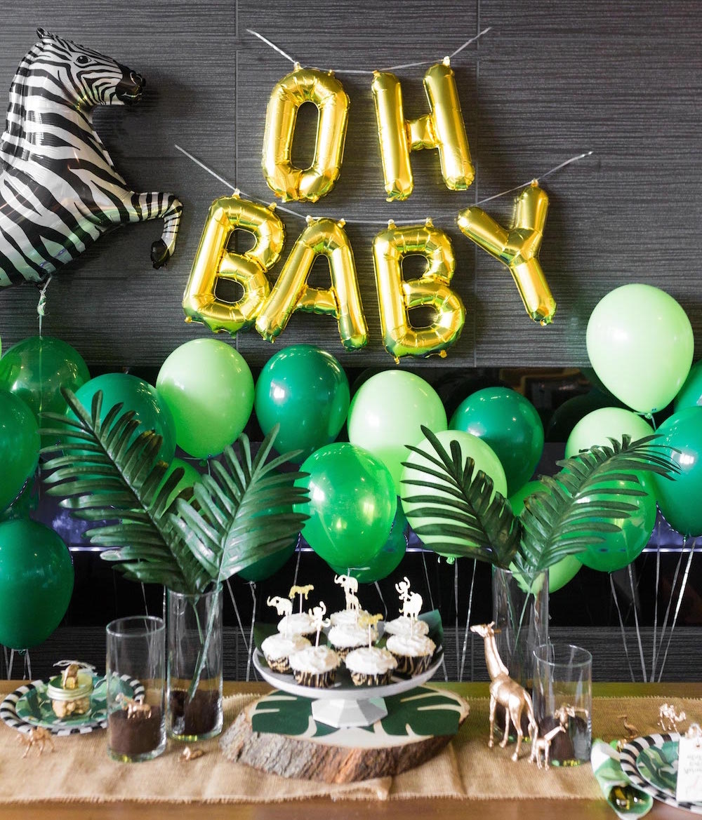 Safari Themed Baby Shower Ideas