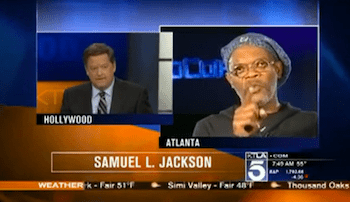 Samuel L Jackson puts news anchor on blast for mistaking him