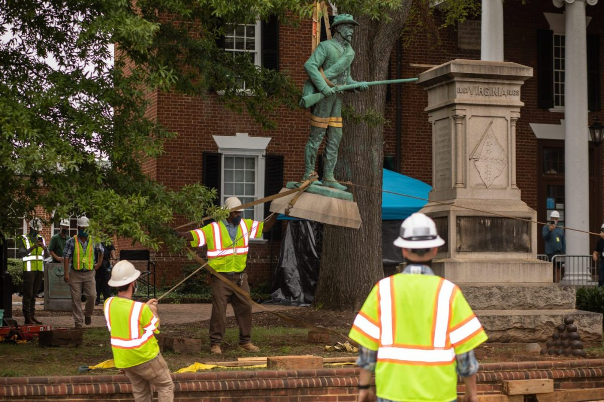 One Down, Two To Go: Charlottesville Removes At Ready