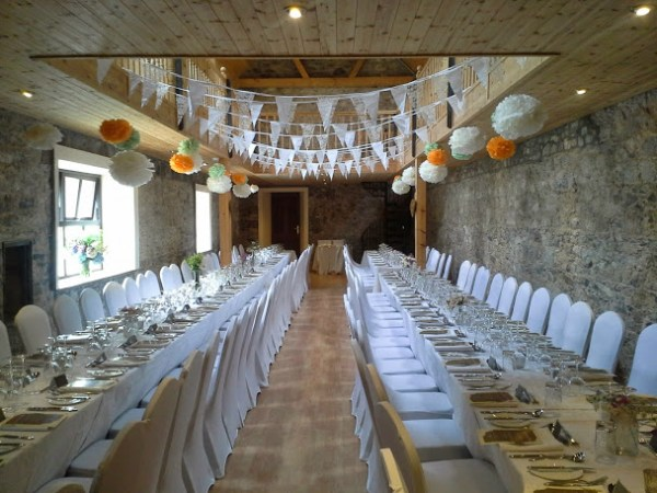 Castle banqueting hall