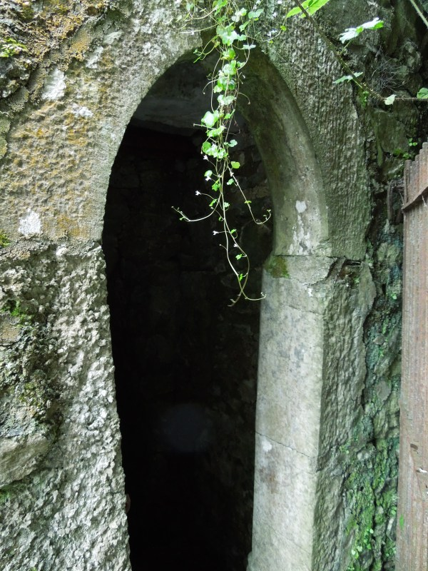 Entrance to the well at Blackwater Castle