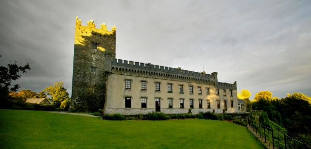 Irish castle wedding