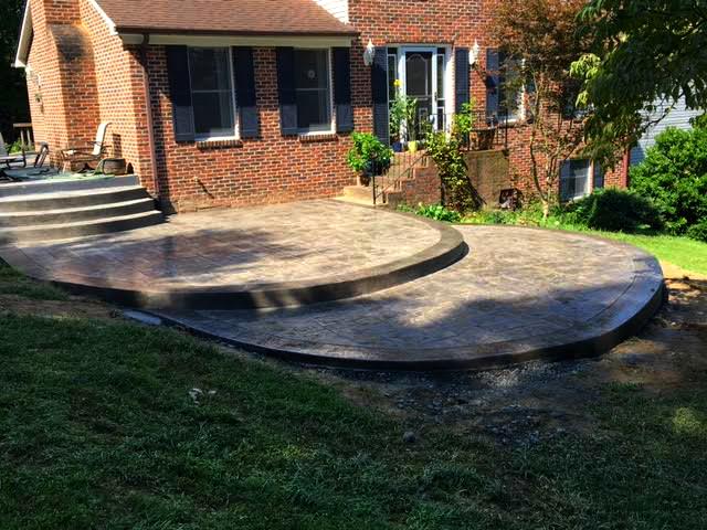 multi level patio archives blackwater concrete