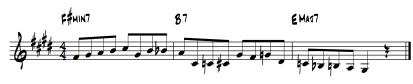 ii-v line 2