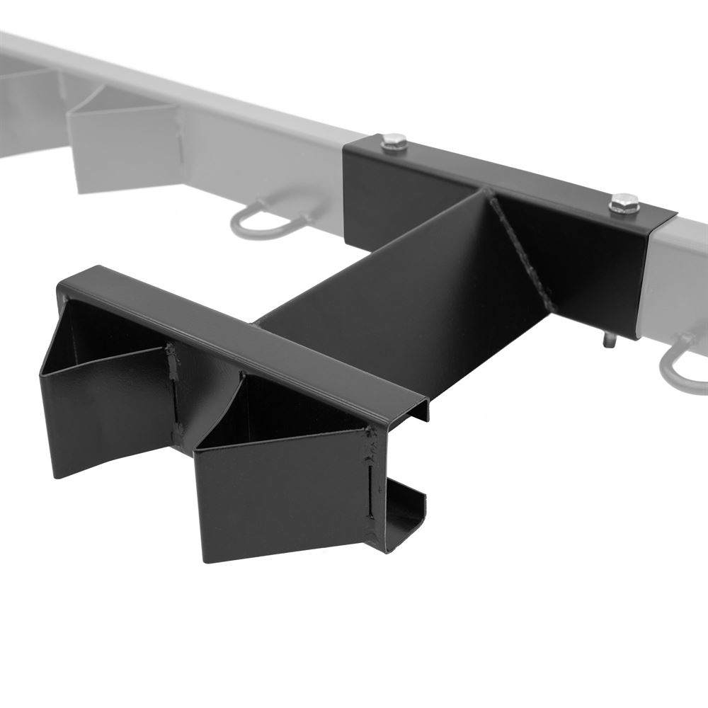 motorcycle tie down rack center extension