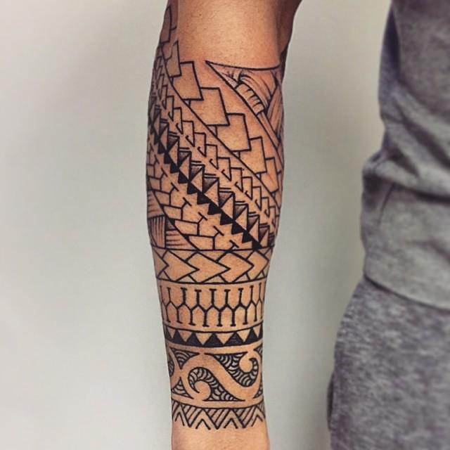 Maori Tattoo Uk: Bladez Barbers And Grooming Room
