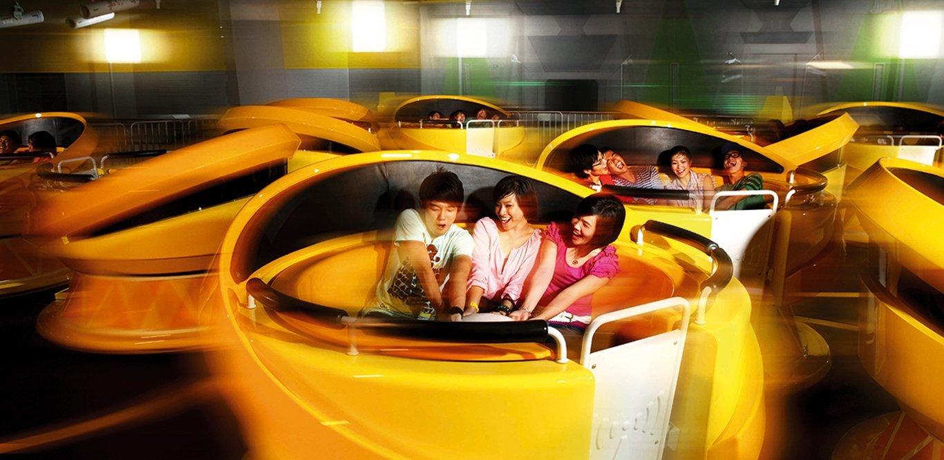 Accelerator, Universal Studios Singapore