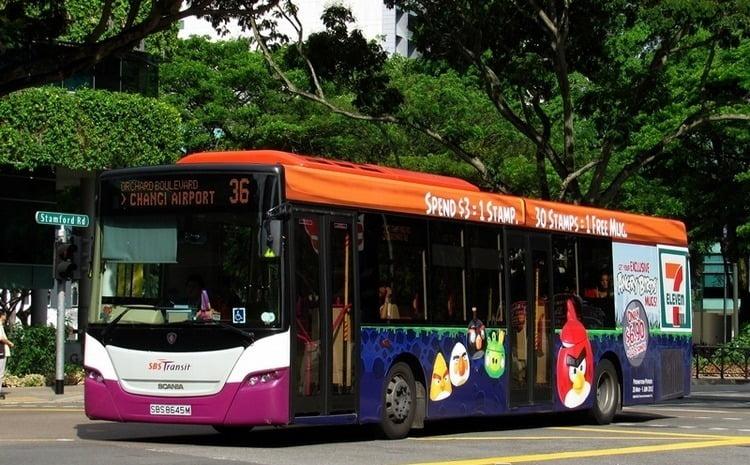 PUBLIC BUS 36 36A singapura