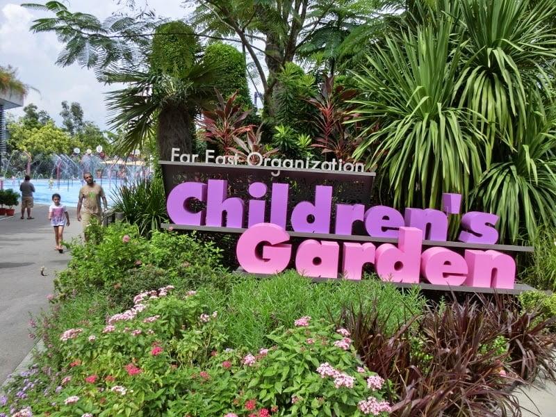 far east organization children's garden, gardens by the bay, singapura