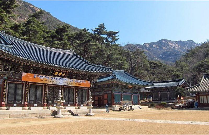 Jingwansa Temple, Korea Selatan
