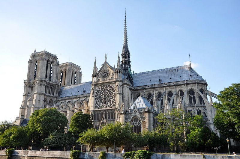 Katedral Notre-Dame, Paris, Perancis