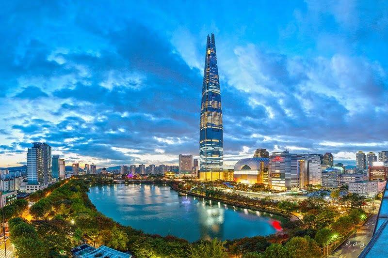 Lotte World Tower, Seoul, Korea Selatan