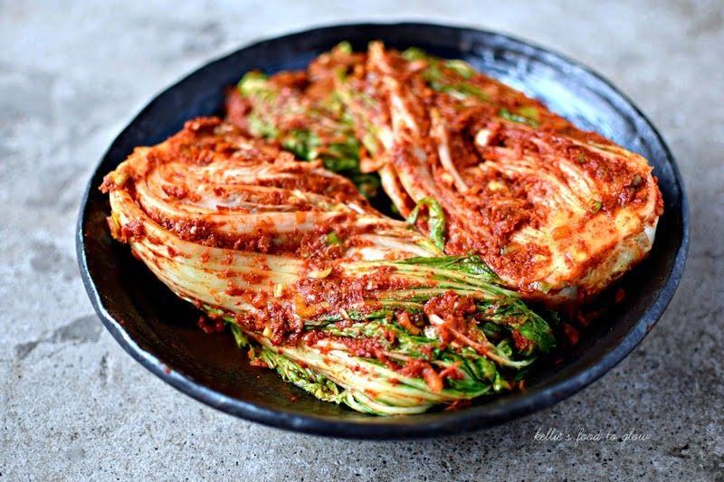 asinan sawi kimchi, korea