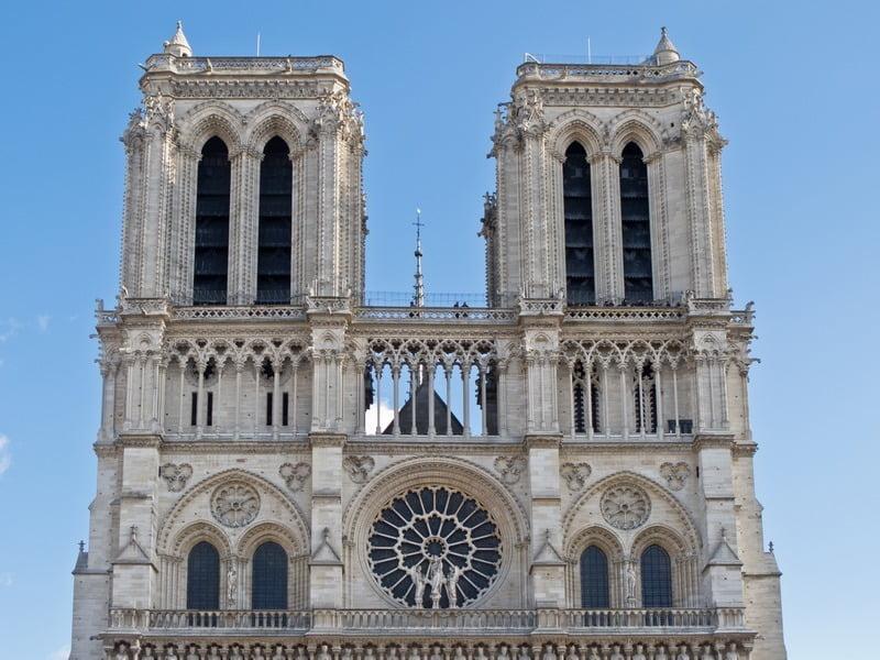 Menara Notre-Dame, Paris, Perancis