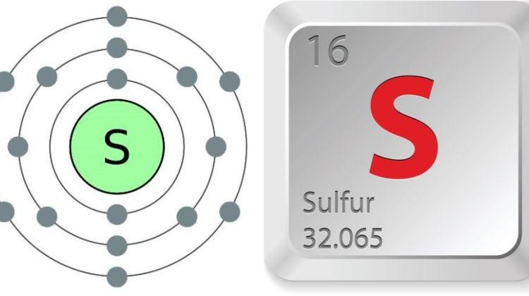 simbol kimia dan nomor atom atom unsur belerang