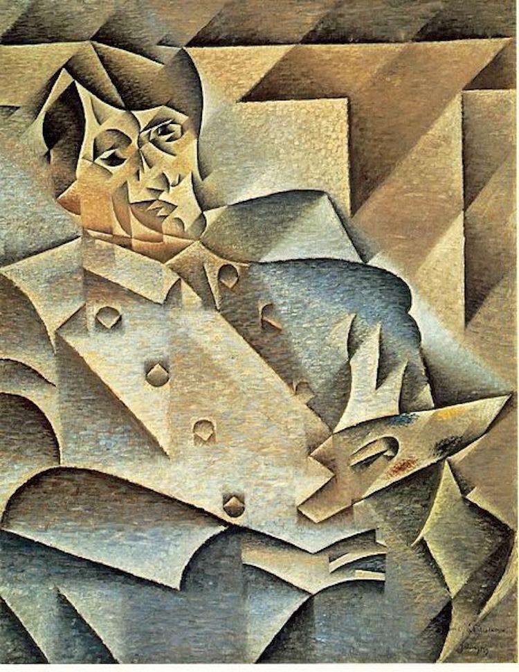 """Juan Gris, """"Portrait of Picasso,"""" 1912"""