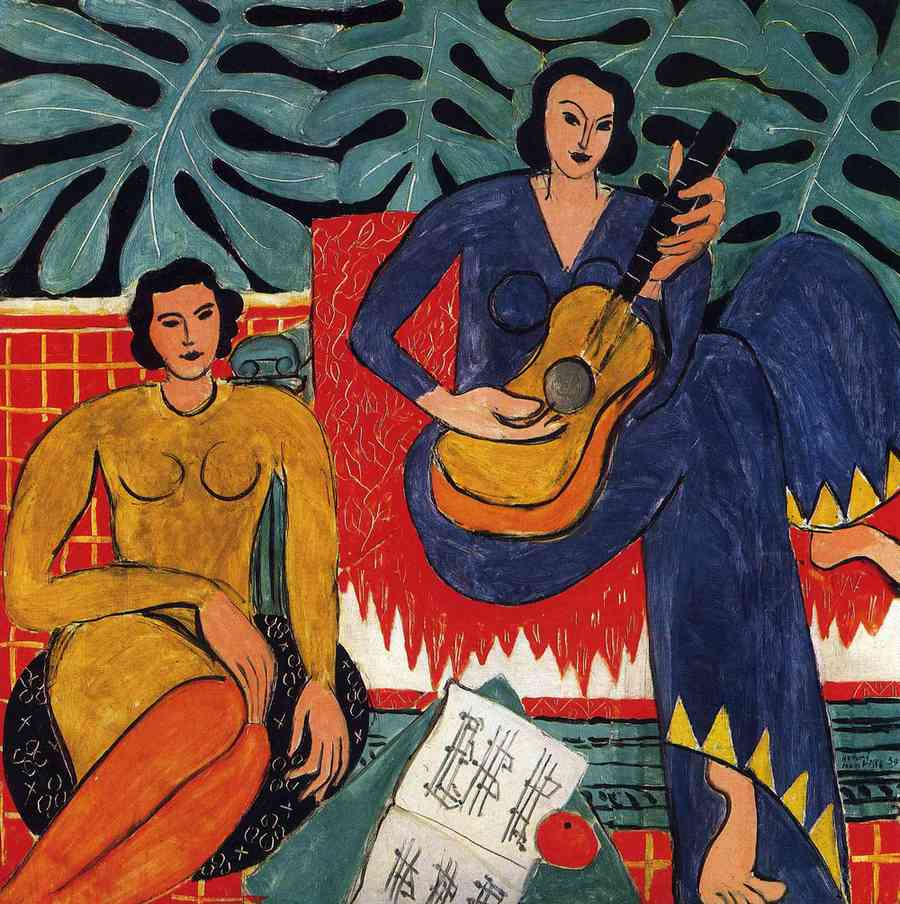 The Music, by Henri Matisse