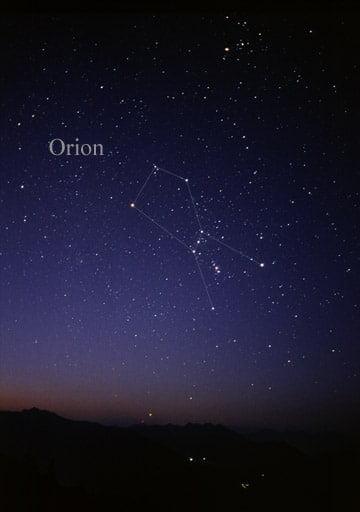 rasi bintang orion