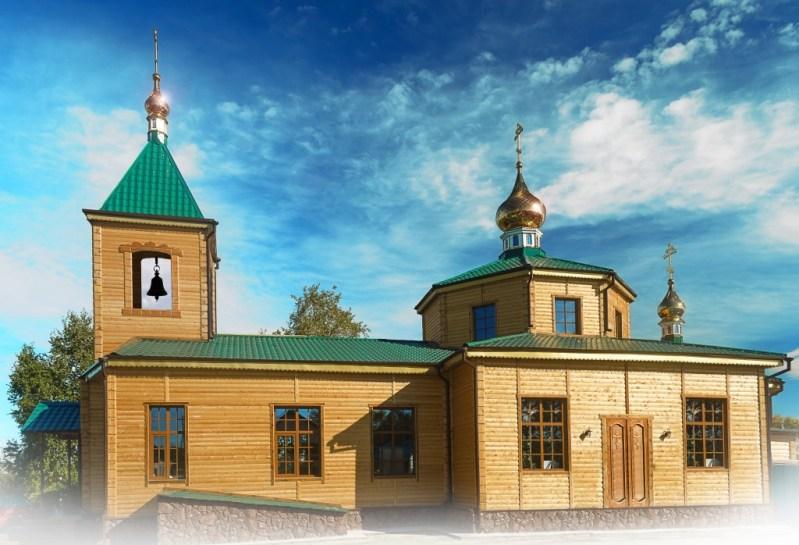 Храм иконы Божией Матери Скоропослушница г. Белогорска