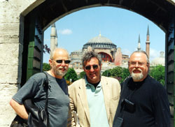 K,J.and B, at blue mosque