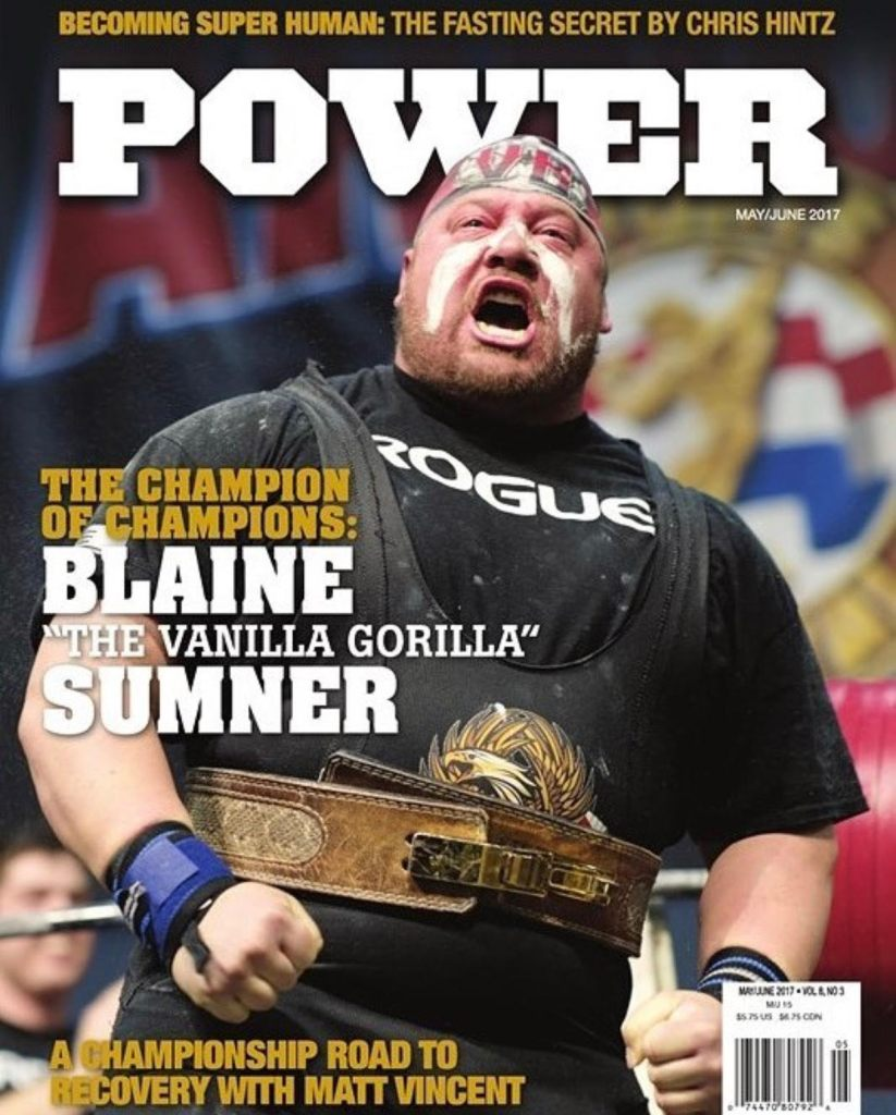 Blaine Sumner Power Magazine Cover