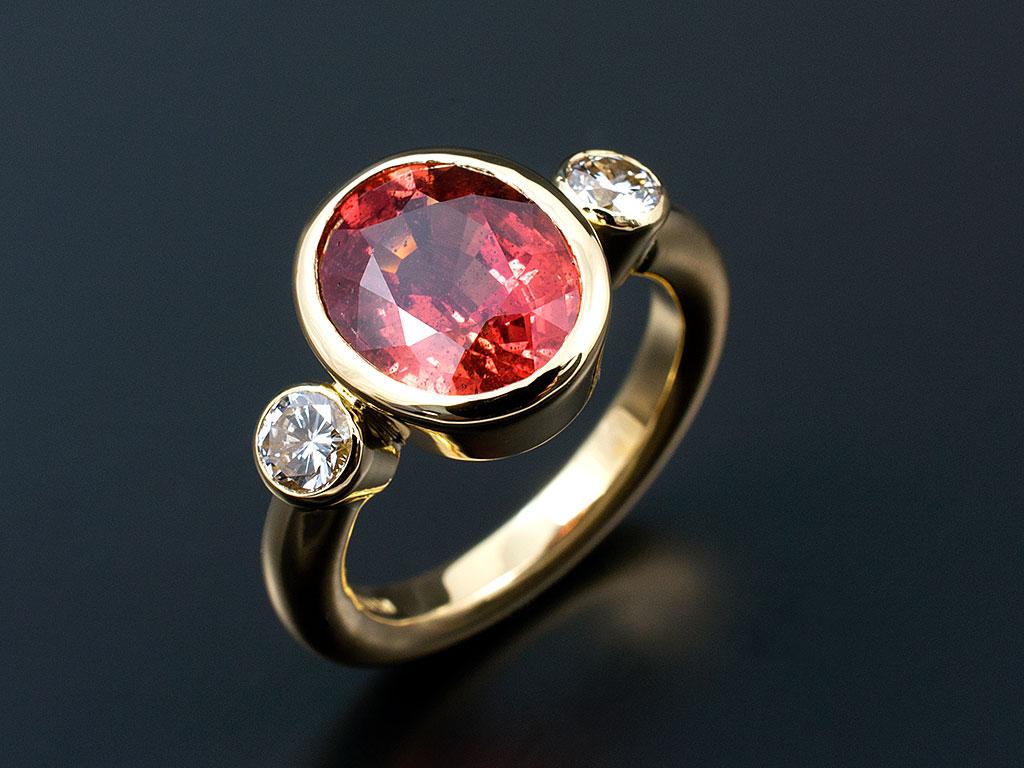4 Stone Ring Anniversary Diamond