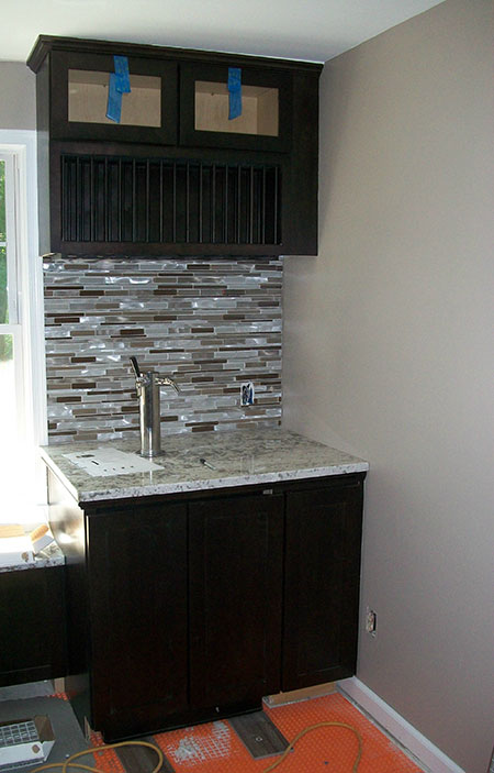 Kitchen Remodel with a Personal Keg Tap