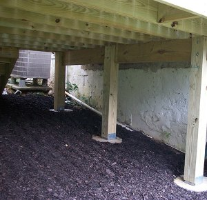 Below Deck - After remodel