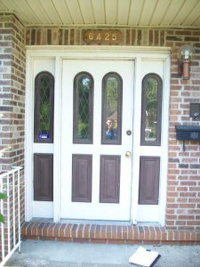 Front Door Replacement - Before