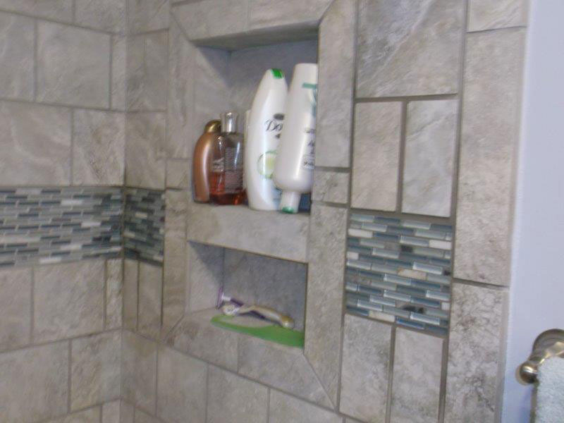 New Bath Tile remodel