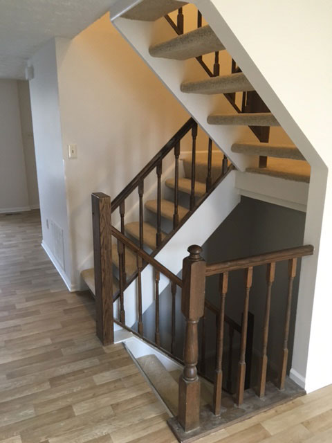 Interior Railings and New Floor remodel
