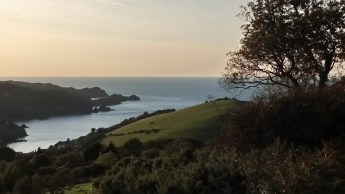 Combe Martin Bay from Coastal Path