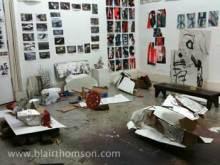 Blair Thomson's Studio, November 2011