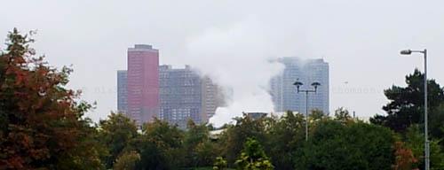Urban steam skyscrapers
