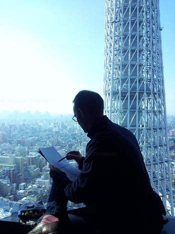 Drawing Tokyo 5 (www.blairthomson.com)
