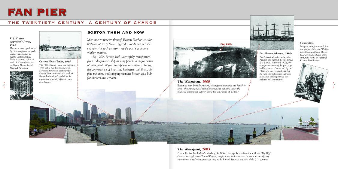 Far Pier Harborwalk timeline 1