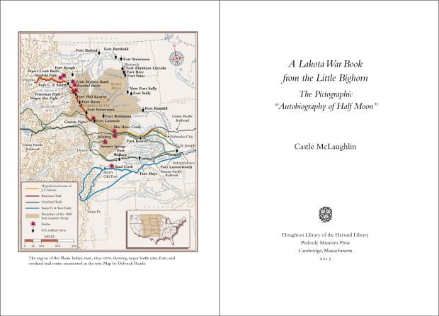 Lakota War Book title page